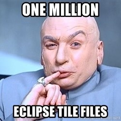 Austin Powers One Million Dollars - One Million Eclipse tile files