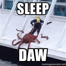 Cthulhu octopus - Sleep DAW