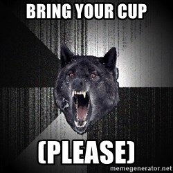 flniuydl - Bring your cup (please)