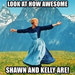 Sound Of Music Lady - Look at how awesome shawn and kelly are!