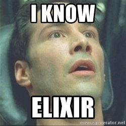 i know kung fu - I KNOW ELIXIR