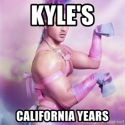 Unicorn Boy - KYLE'S CALIFORNIA YEARS