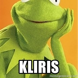 Kermit the frog -  Kliris