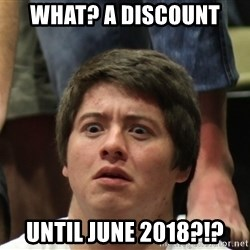 Brony Conspiracy Laurence - What? A discount until June 2018?!?