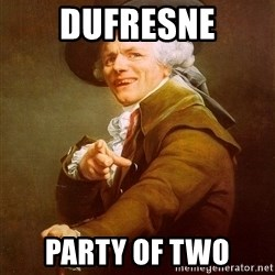 Joseph Ducreux - dufresne party of two