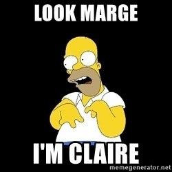 look-marge - LOOK MARGE I'M CLAIRE