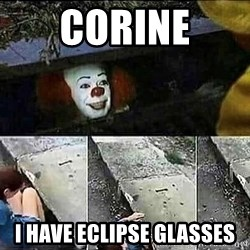 Stephen King IT Clown Sewer - Corine I have eclipse glasses