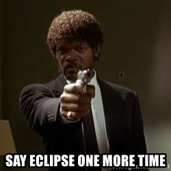 Jules Pulp Fiction -  Say eclipse one more time