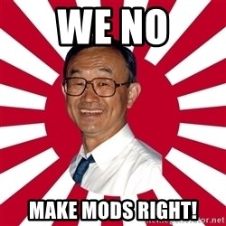 Crazy Perverted Japanese Businessman - we no make mods right!