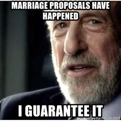 mens wearhouse - Marriage proposals have happened I guarantee it