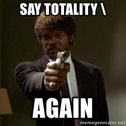 Jules Pulp Fiction - Say totality \ again