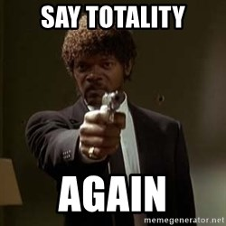 Jules Pulp Fiction - say totality again