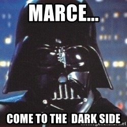 Darth Vader - Marce... Come to The  dark side