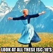 Look at all these -  LOOK AT ALL THESE ISC-10'S