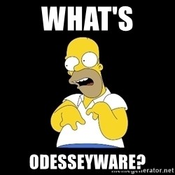 look-marge - what's  odesseyware?
