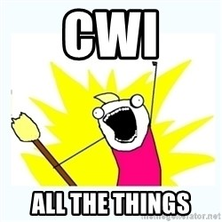 All the things - CWi All the thiNgs