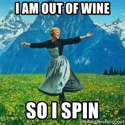 Look at All the Fucks I Give - I AM Out OF WIne So I SPin