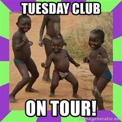 african kids dancing - TUesday club On tour!