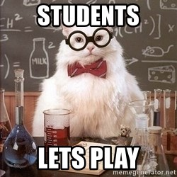 Chemistry Cat - Students Lets play
