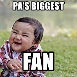 Evil Asian Baby - Pa's Biggest FAN