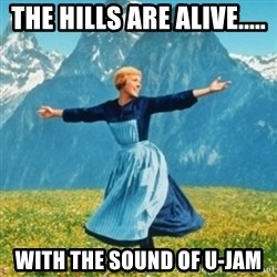 Sound Of Music Lady - the hills are alive..... with the sound of u-jam