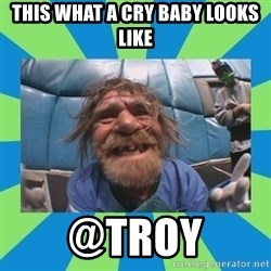 hurting henry - this what a cry baby looks like @troy