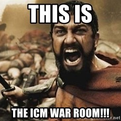 300 - This is the icm war room!!!