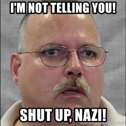 Are You A Wizard - I'm not telling you! Shut up, Nazi!