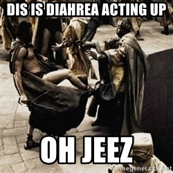 sparta kick - dis is diahrea acting up OH JEEZ
