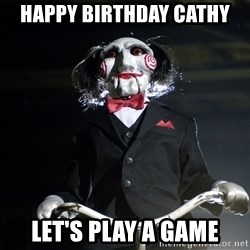 Jigsaw - Happy Birthday cathy Let's Play A game
