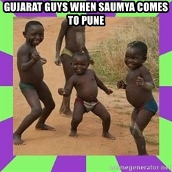 african kids dancing - gujarat guys when saumya comes to pune