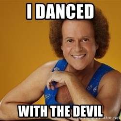 Gay Richard Simmons - I DANCEd With the devil