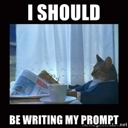 i should buy a boat cat - I should be writing my prompt