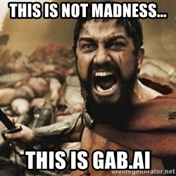 300 - This is not madness... This is Gab.ai