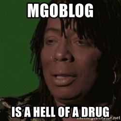 Rick James - Mgoblog Is a hell of a drug