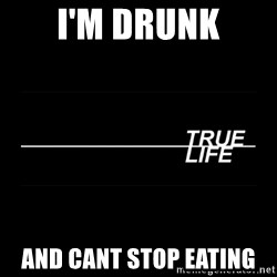 MTV True Life - I'm drunk And cant stop eating