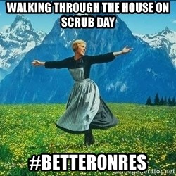 Look at all the things - walking through the house on scrub day #betteronres
