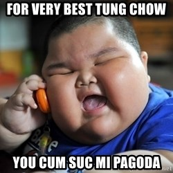 Fat Asian Kid - For very bEst tung chow You cum suc mi pagoda