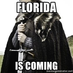 Sean Bean Game Of Thrones - florida is coming