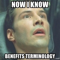 i know kung fu - NOW I KNOW Benefits terminology