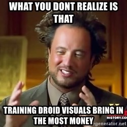 Giorgio A Tsoukalos Hair - what you dont realize is that training droid visuals bring in the most money