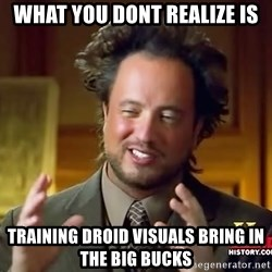 Giorgio A Tsoukalos Hair - what you dont realize is training droid visuals bring in the big bucks