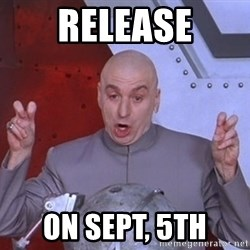 Dr. Evil Air Quotes - release on sept, 5th