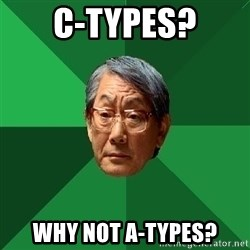 High Expectations Asian Father - C-types? Why not A-types?