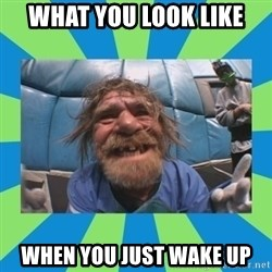 hurting henry - what you look like when you just wake up