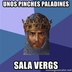 Age Of Empires - UNOS PINCHES PALADINES  SALA VERGS