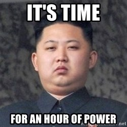 Kim Jong-Fun - It's time For an hour of power