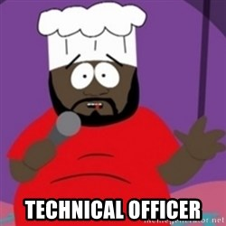South Park Chef - Technical officer