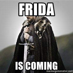 ned stark as the doctor - FRIDA Is coming