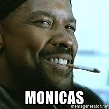 Denzel Washington Cigarette - Monicas